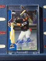 2020 Topps Pro Debut #PD-149 Matt Gorski Auto Blue #d 007/150 Autograph Pirates