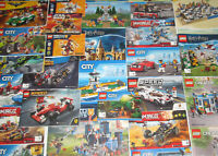 Lego ® Gros Lot Vrac 1 kilo Notice Plan Manuel City Ninjago Friends Star Wars