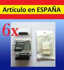 6x plantillas anti VAHO empaña camara accesorios GOPRO HERO 1 2 3 3+ fog golpes