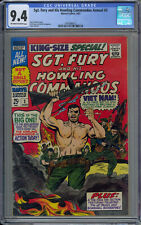 Sgt. Fury and His Howling Commandos Annual #3 CGC 9.4 OW/W - (1967)