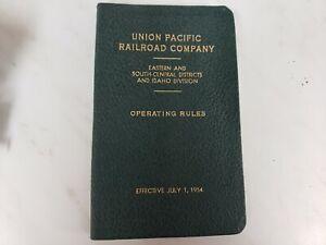 Union Pacific Railroad Operating Rules Book