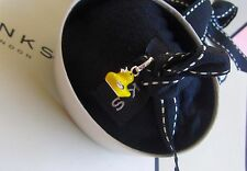NEW Links of London sterling silver yellow enamel Lucky Ducky sweetie charm gift