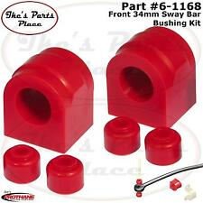 Prothane 6-1168 Front Sway Bar 34mm Bushing&End Link Kit 04-06 F-150/250 (2/4WD)