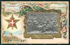 Militari Bersaglieri Alessandro La Marmora 1836-1911 cartolina XF1418