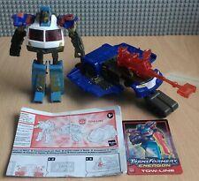 Transformers Energon Tow-Line completa más instrucciones y tarjeta de estadísticas