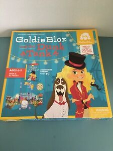 Goldie Blox And The Dunk Tank - Read And Build Along