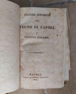 Saggio istorico sul regno di napoli 1824