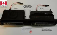 "Motorola Back-Back Repeater 19"" Rack Mount Panel CM200/CM300 PM400 M1225 SM120"