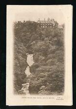 Wales Cardinganshire DEVILS BRIDGE Hafod Hotel advert illus letter card c1920s?