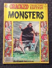 1981 Cracked Collectors' Edition MONSTERS Magazine VG- Dracula