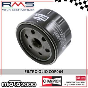 FILTRO OLIO CHAMPION COF064 PER BMW C SPORT (K18) 600 2012 2013 2014 2015