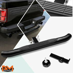 """37""""x3.25"""" Pedal Class III 2"""" Receiver Black Coated Trailer Hitch Rear Step Bar"""