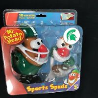 Mr Potato Head Sports Spuds Michigan State Spartans Football College NEW