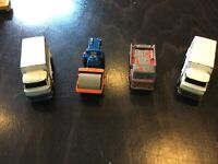 Four Corgi Junior Trucks / Steam Roller