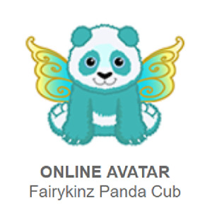 Webkinz Classic Fairykinz Panda Cub *Code Only*