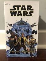 "6"" Luke Skywalker Strikes Black Series Figure New In Box NIB Star War Jedi"