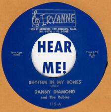ROCKABILLY REPRO: DANNY DIAMOND-Rhythm In My Bones/Badman IRVANNE - WILD ROCKER