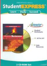 Prentice Hall Science Explorer Inside Earth: StudentExpress PC MAC CD text sheet