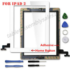 For iPad 4 iPad 2 Screen Replacement Touch Screen Digitizer Assembly Black/White