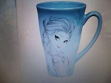 Disney's Elsa Sketch Mug 12oz 2015 Hot Beverage Mug Ceramic Authentic New