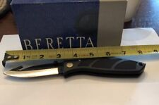 Beretta Folding W/gut Hookw/holster And Box Knife