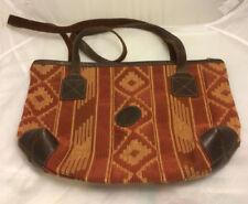 Arte Y Tradicion En Cuero Argentino Tapestry Purse Leather