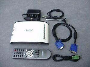 KWORLD SA290-QLE EXTERNAL ATSE / QAM TVBox VGA DIGITAL HDTV TUNER RECEIVER