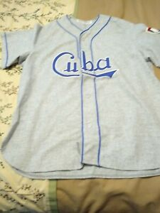 Ebbets Field Flannels Cuba Jersey Size Xl In Great Shape