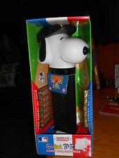 SNOOPY PITTSBURGH PIRATES GIANT MUSICAL PEZ UNOPENED PEANUTS