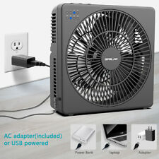 "OPOLAR 8""Quietest Personal Table Cooling Desk Cool Fan, USB Operated,Timer"