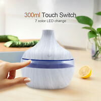 Air Aroma Essential Oil Diffuser LED Aroma Aromatherapy Humidifier Air Purifier