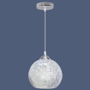 Vintage Glass Globe Ceiling Hanging Pendant Light Shade Mosaic Lighting M0103