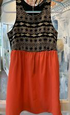 THML Aztec Print Dress Size Large