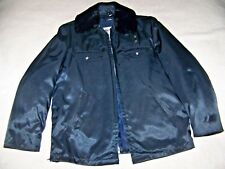 Blauer Fire Department NYLON Jacket Vintage Waterbury FD Silver Buttons  CLEAN!!