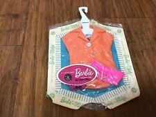 MIP Barbie Orange Blouse with Pink Purse Pak