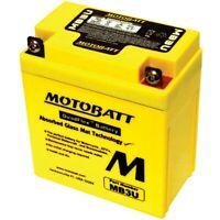 New Motobatt Battery For Yamaha XT350 85-00 YB3LA YB3LB