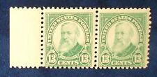 US SC#622 MNH 1925-6 13 Cent Harrison Pair