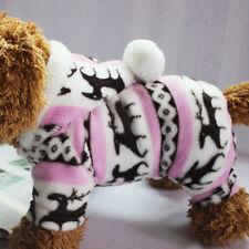 New Xmas Warm Small Pet Dog Cat Clothes Winter Puppy Apparel Coat Jacket Sweater
