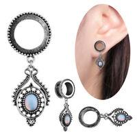 Drop Dangle Ear Plugs Tunnels Ear Gauges Stretchers Expander Piercing Jewelry_sh