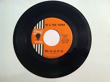 NORTHERN SOUL - 45 RPM - IKE & TINA TURNER - TRA LA LA LA LA - UNPLAYED MINT