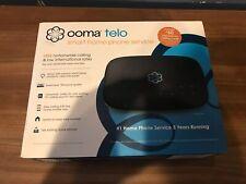 Ooma Telo Free Home Phone Service opened box NEW!