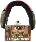 1 Mossy Oak Bottomland Ladies One Size Fits Most Pink Camo & Black Ear Warmers