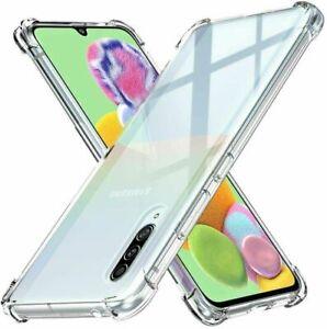 Samsung Galaxy A20e A21s A90 A20s A51 A71 Case Shockproof Clear Bumper Cover TPU