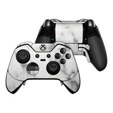 Xbox One Elite Controller Skin Kit - White Marble - DecalGirl Decal