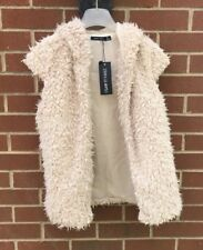 "I Saw It First Nude "" Teddy Bear"" Hooded Jacket/ Body Warmer Size 8"