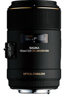 Sigma 105mm f/2.8 EX DG OS HSM Macro Lens for Canon