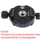 iShoot Panoramic Panning Base Head Clamp for Quick Release Plate Tripod Camera