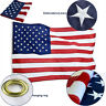 3'x5' ft, American Flag US USA EMBROIDERED Stars, Sewn Stripes, Brass Grommets