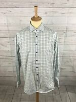 Men's GIno Marcello Shirt - XL - Check - Made In Italy - Great Condition