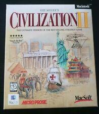 Civilization II 2- Apple Mac OS Box Set